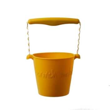 Scrunch-bucket - mustard