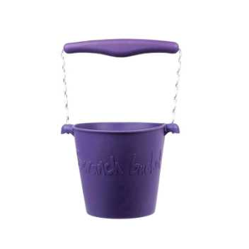 Scrunch-bucket - dark purple