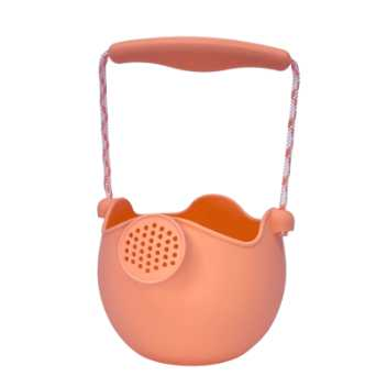Scrunch-watering-can - coral