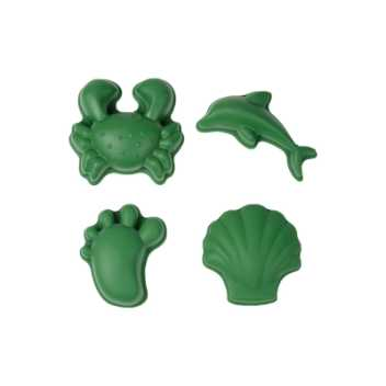 Scrunch-moulds - dark moss green