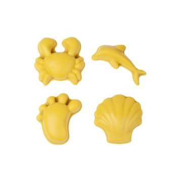Scrunch-moulds - pastel yellow